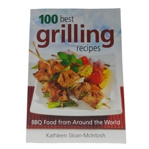 100 Best Grilling Recipes Softcover Book